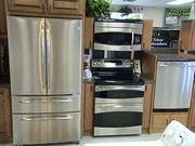 stainless steel kitchen appliance package deals delivered in USA